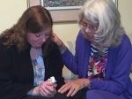 Margaret Debbie pray praying